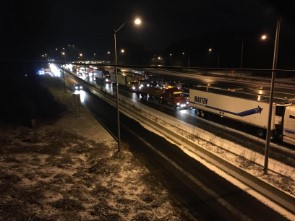 Latest traffic and transit conditions