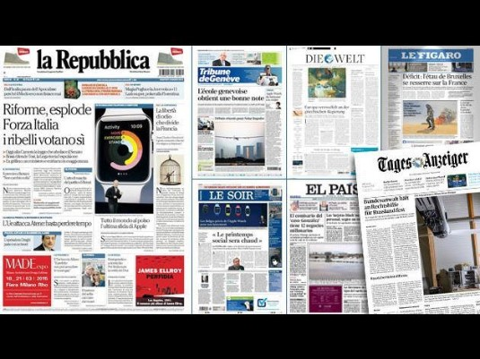 Repubblica.it - Europe Goes US liveblog